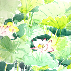 Aquarelle Chine